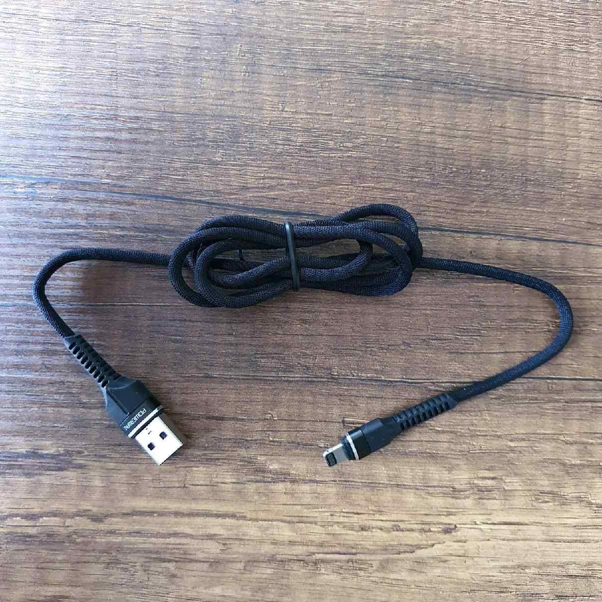 Powerway iPhone USB Hızlı Şarj ve Data Aktarım Halat Kablo USB 3.0 QC46