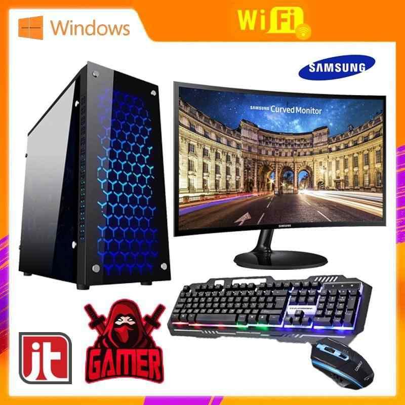 AMD™ FX-8800 23.5Curved 8GB 256GB SSD M2 4GB DDR5 VGA Gaming PC