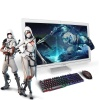 Gamer All in One Pc 27 FX™ 8800 8GB 256GB M2 SSD + 1 TB HDD 4GB R7 GDDR5 128Bit VGA