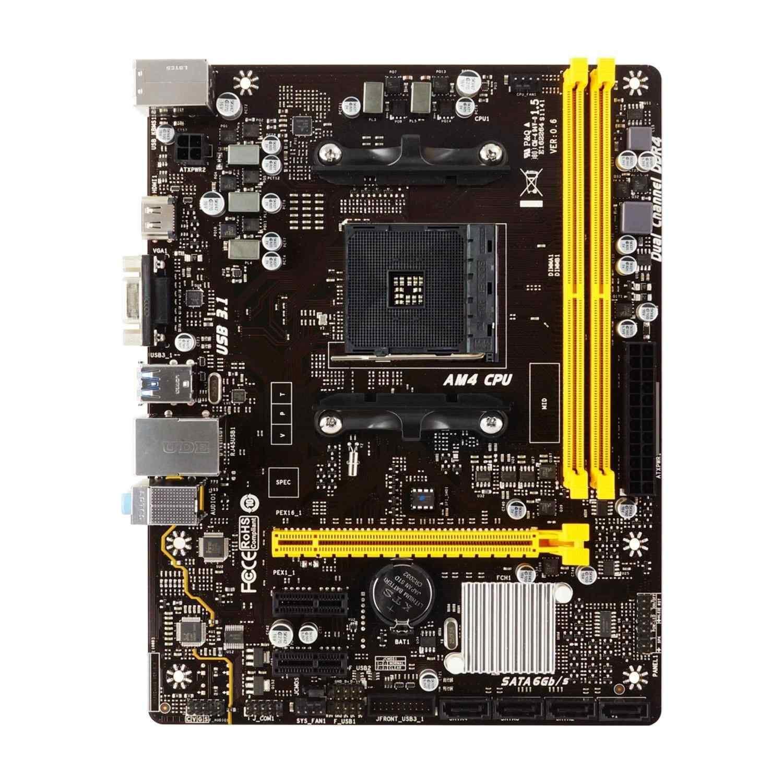 Biostar A320MH AMD A320 DDR4 Soket AM4 mATX Anakart