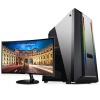 Gaming PC® i7-2600 3.80Ghz 16GB 256GB SSD 2GB VGA Samsung Curved 23.5
