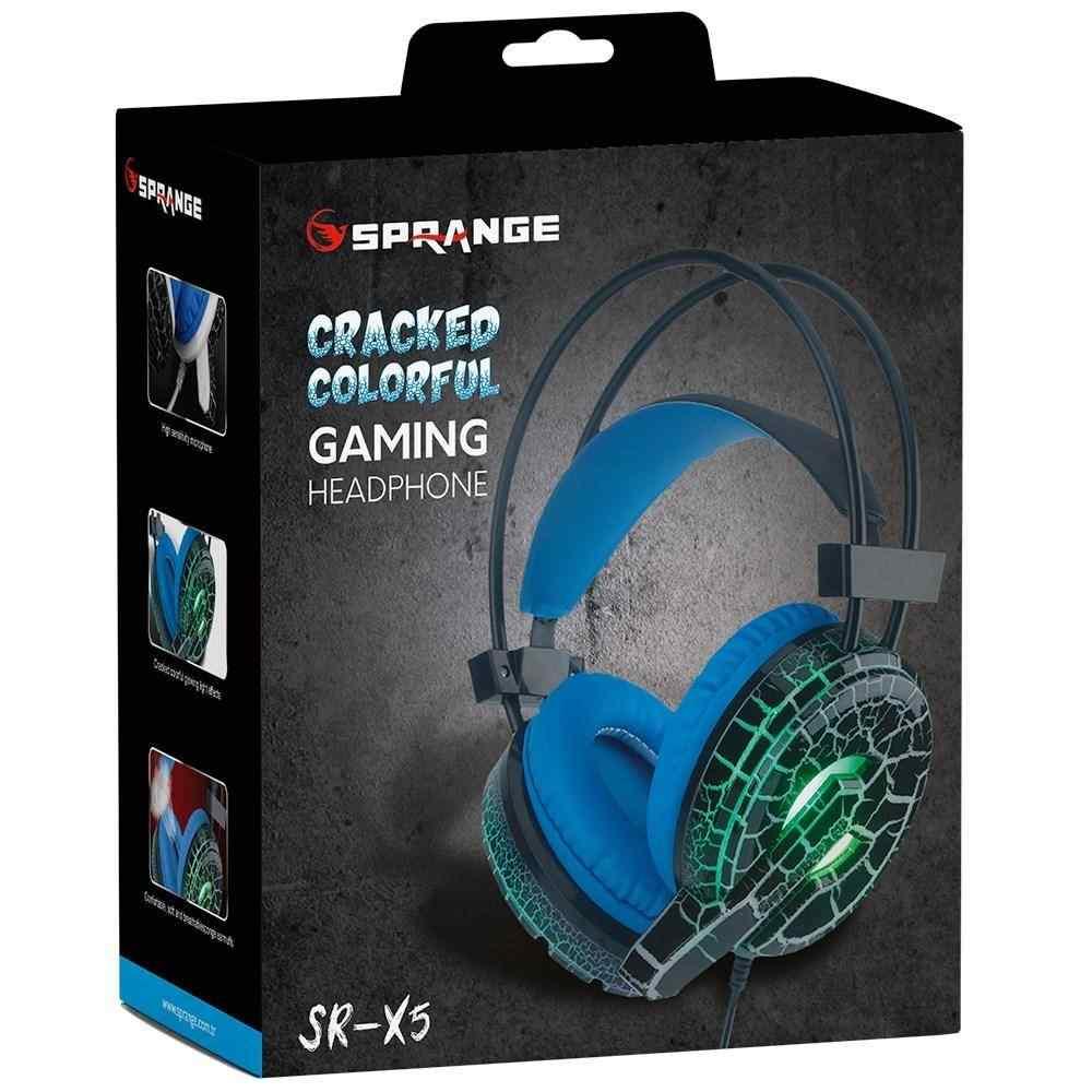 J-Tech Sprange SR-X5 PRO Işıklı Gaming Oyuncu Mikrofonlu Kulaklık