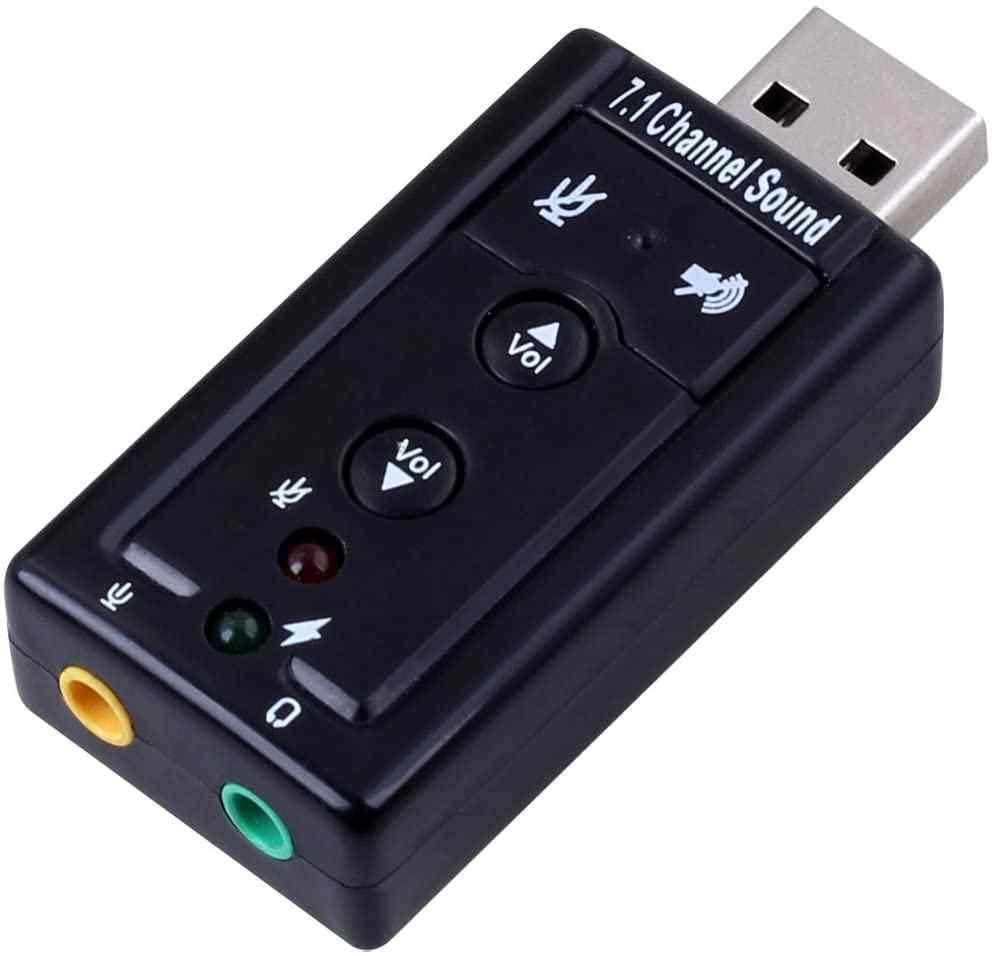 J-Tech V11 7.1 Usb Ses Kartı Usb Sound Adapter