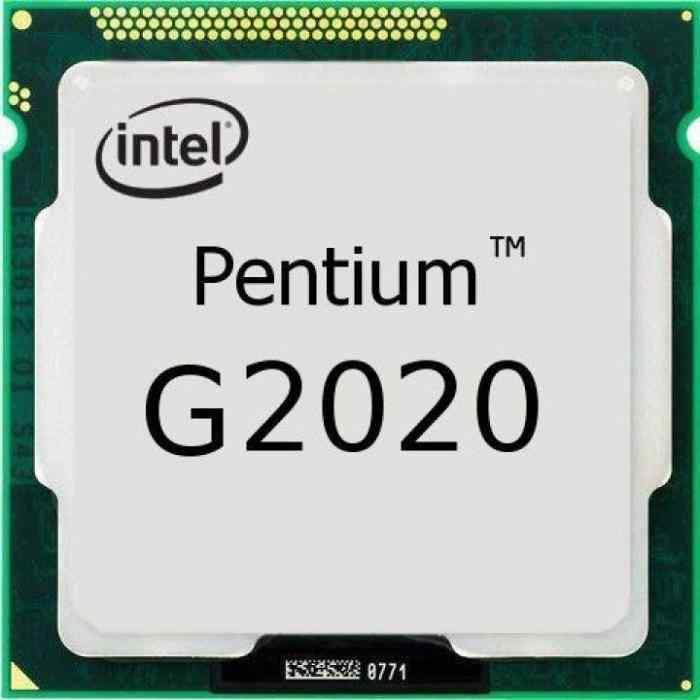 Intel® Pentium® G2020 İşlemci 3M Önbellek, 2.90 GHz 1155pin H61