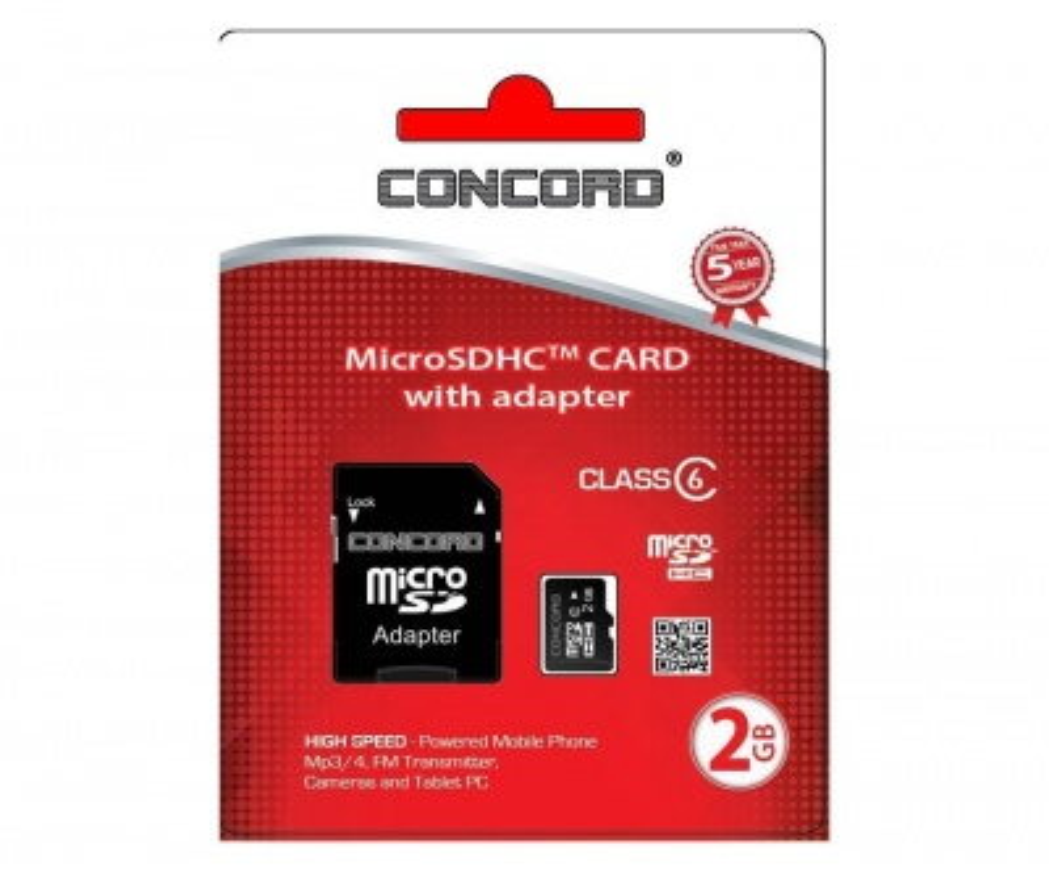 2 Gb Hafıza Kartı | Concord C-m2 High Speed