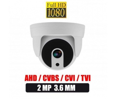 2.0 MP AHD ATOM LED HD 1080P DOME GÜVENLİK KAMERASI 2206