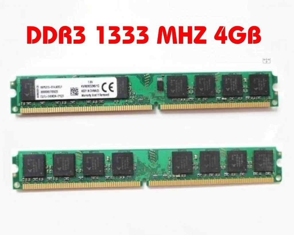 4GB DDR3 1333 MHZ RAM BELLEK AMD İNTEL UYUMLU