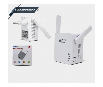HADRON HD9106 Wifi Repeater Acces Point  2 Anten 300Mbs