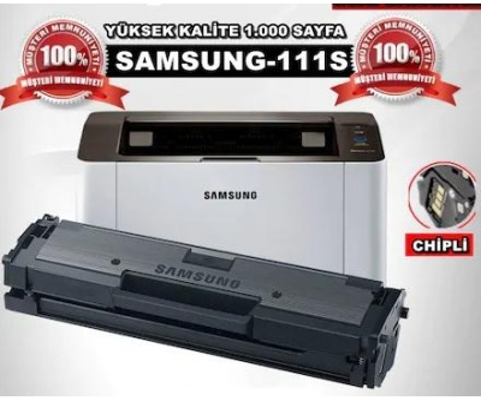 Samsung MLT-D111S Çipli Muadil Toner /WB/M2020/2020W/M2070/M2021/