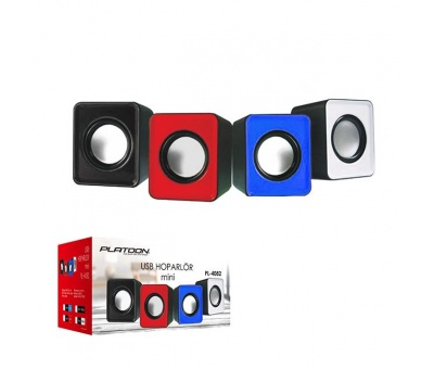 PLATOON PL-4082 PC USB MINI ÇİFT SPEAKER