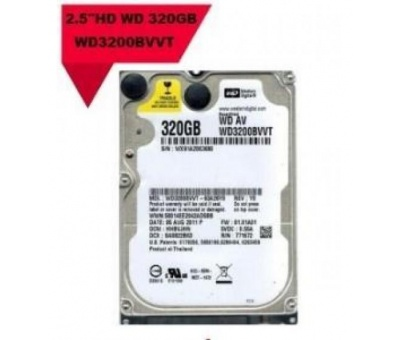WESTERN DİGİTAL NB HDD 320GB  WD3200BWT NOTEBOOK HARDİSK 2,5