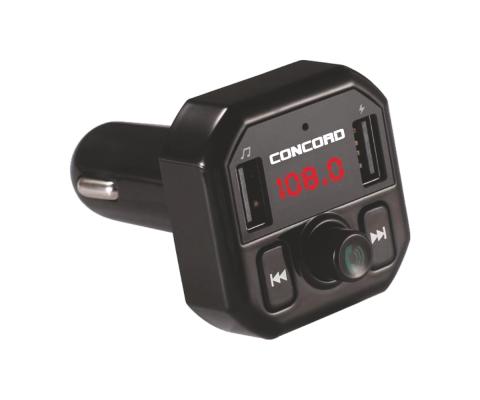 Concord C-609 |3.1A Çift USB| TF | BT | FM Transmitter