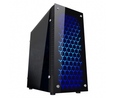 Gaming Turbo X8  4x Fan 32 Blue 300W Oyuncu Kasası