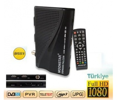 MOONSTAR  MİNİ FULL HD UYDU ALICISI YOUTUBE DSR-6500
