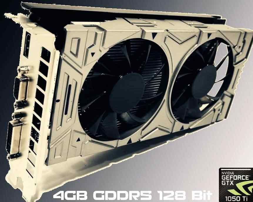 nVIDIA GTX1050Ti-4GB GDDR5 128 Bit O4G Ekran Kartı (DX12) Gaming