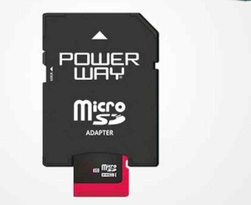POWERWAY MICRO SD 8GB HAFIZA KARTI PH-8