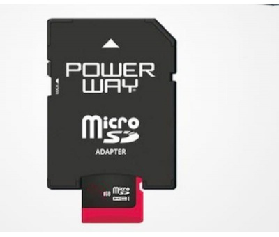 POWERWAY 16GB MİCRO SD HAFIZA KARTI PH-16GB