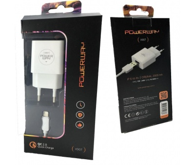 Powerway X-907 | İphone Apple Hızlı Şarj 2000 mAh Quick Charge