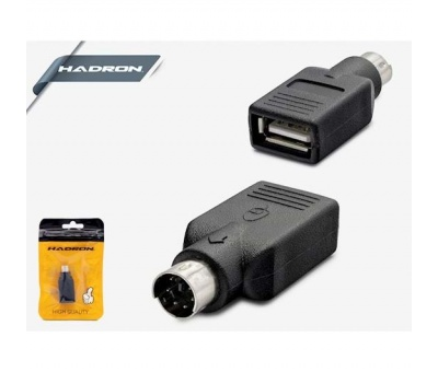HADRON HD4133 USB TO PS/2 ADAPTÖR F/M