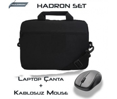 Hadron SET 15.6 Laptop Canta + M4 Kablosuz Mouse