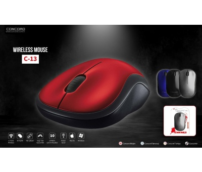 Concord | C-13  Wireless Kablosuz Mouse