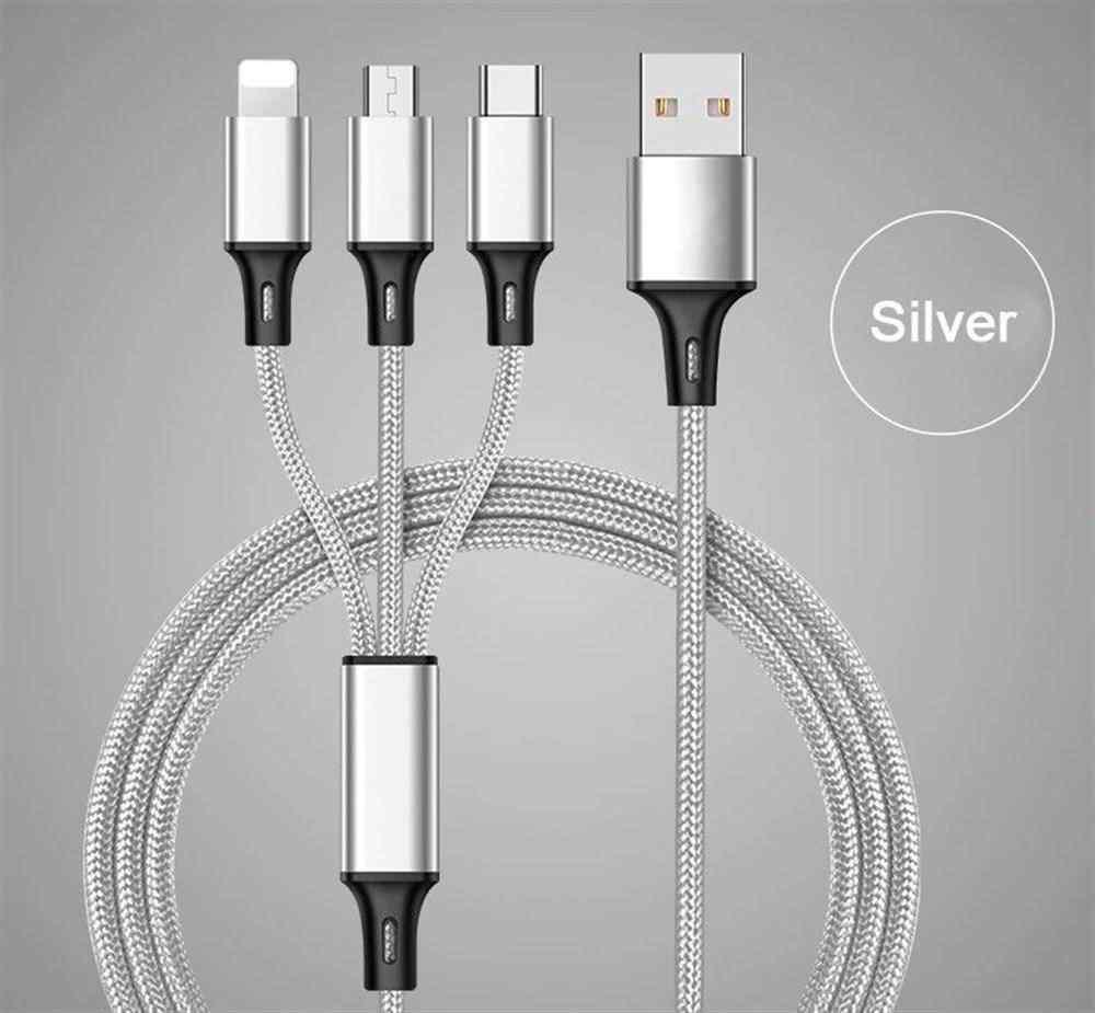 Concord C-323 3 in 1 USB Data Kablo