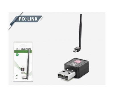 PIX-LINK LV-UW02-5DB 150MBPS WIRELESS ADAPTÖR 7601 IC