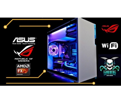 Gamer Set Asus in-Win 550W FX8800 512GB SSD 32GB DDR4 RAM 4GB ASUS EVO GDDR5 EKRAN KARTI 6 RGB FAN