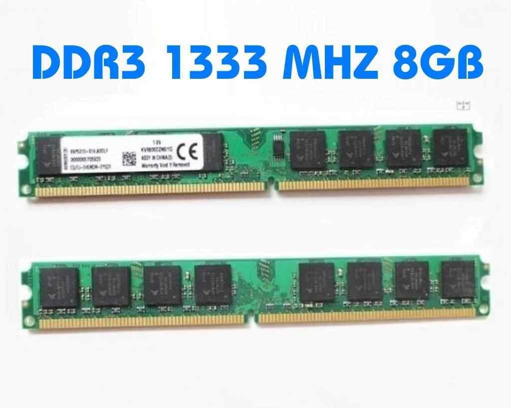 8GB DDR3 1333 MHZ RAM BELLEK AMD İNTEL UYUMLU