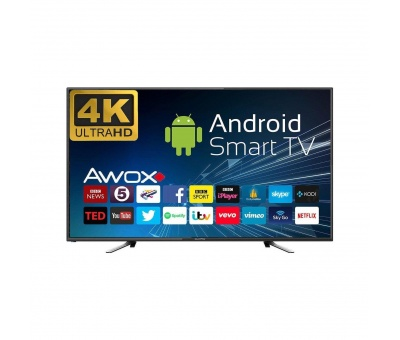 Awox K5500RST 55 inc 140 Ekran Uydu Alıcılı 4K Ultra HD Smart LED TV