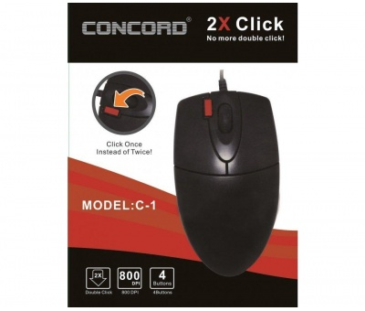 Concord C-1 | Optik Kablolu Mouse