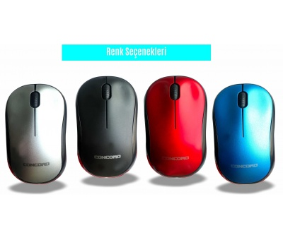 CONCORD | C-13 | WİRELESS KABLOSUZ MOUSE 1200 DPİ