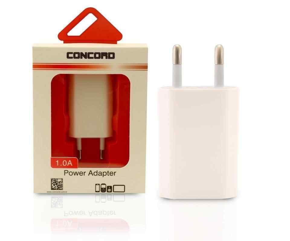 Concord C-748 | 1.0A | Lightning USB Başlık Şarj Charger