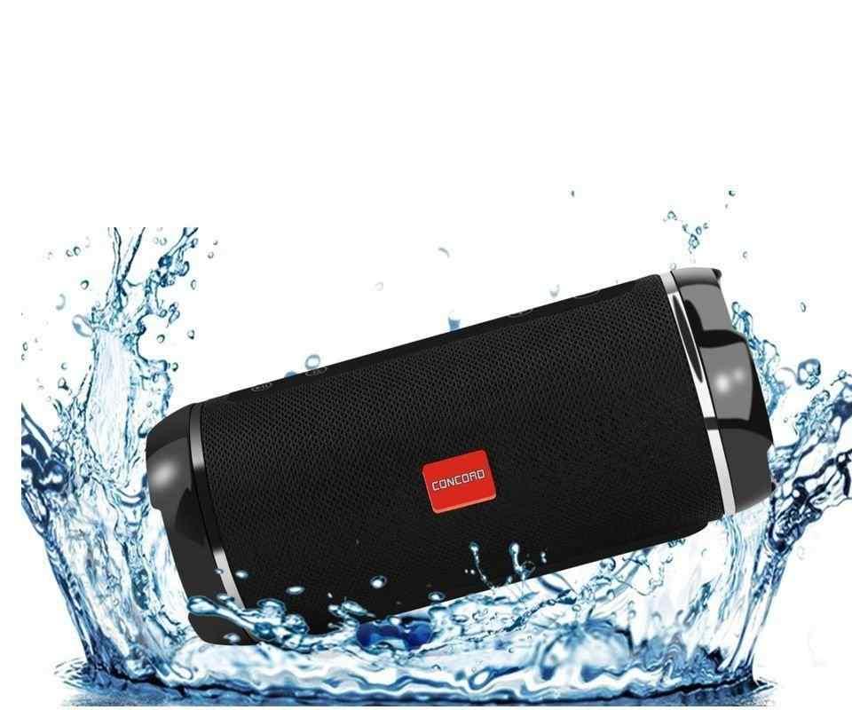 Concord C-790   BT   TF   USB   Suya Dayanıklı Bass Fm Hoparlör