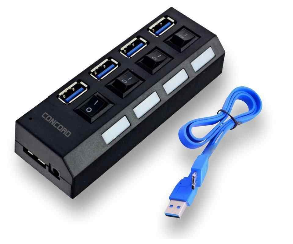 Concord C-853| USB HUB 3.0 (USB ÇOĞALTICI)