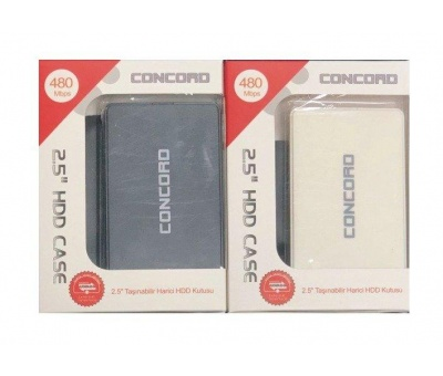 Concord C-854 | 2.5 inc Usb 2.0 Harici Hdd Sata Hdd Kutu 480Mbps