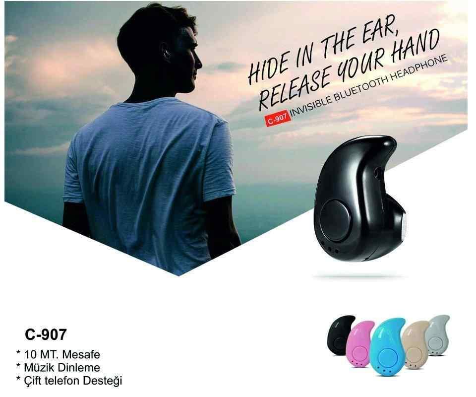 Concord C-907 Siyah | Bluetooth Kulaklık