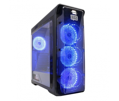 DRAGOS NORTHSTAR 550w-650w 80+ PSU 4X32 LED FAN