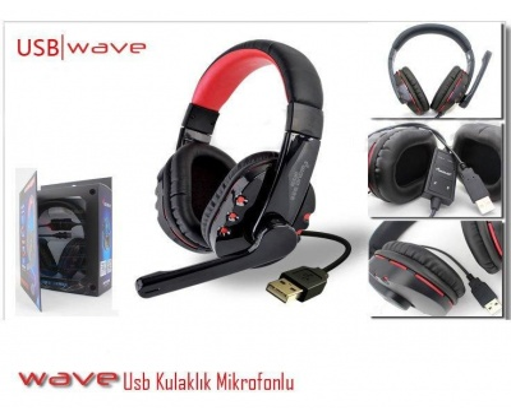 E-Wave Op-338 Usb Mikrofon Kulaklik
