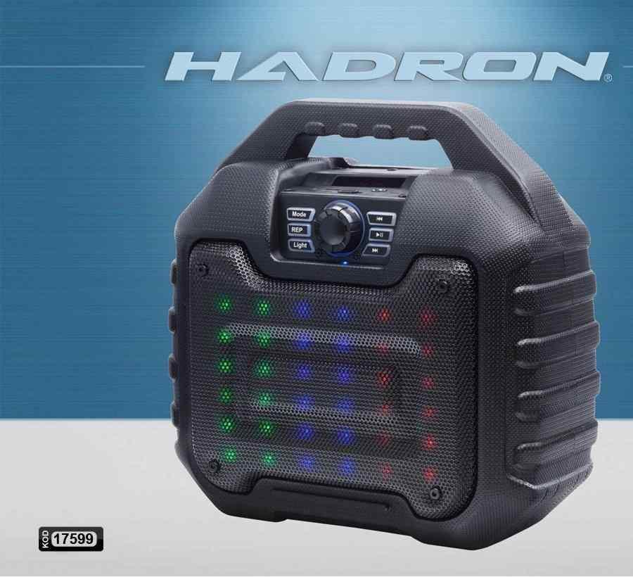 HADRON HD-7096 SEYYAR ANFİ ŞARJLI USB/SD/UK BLUETOOTH