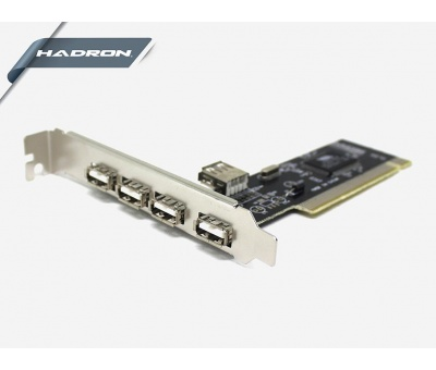 HADRON HD2203 PCI USB CARD 4 PORT