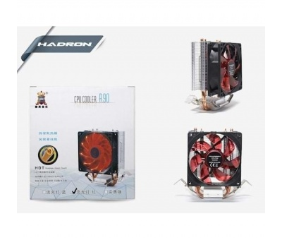 HADRON HD2536 COMBO AMDİ/İNTEL 9CM LED IŞIKLI OYUN KASA CPU FAN