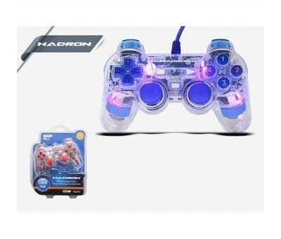 HADRON HD315 PC TRANSPARENT JOYSİTİCKLİ GAME PAD OYUN KOLU
