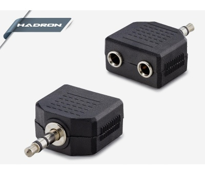 HADRON HD4388 AUX ADAPTÖR SPLİNTER M/2F