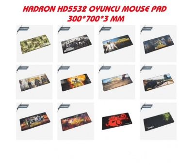 HADRON HD5532 OYUNCU GAMİNG MOUSE PAD 300*700*3MM