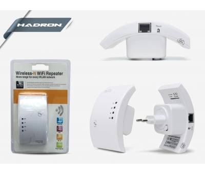 HADRON HD9102 ACCESS POINT & REPEATER 300Mbps