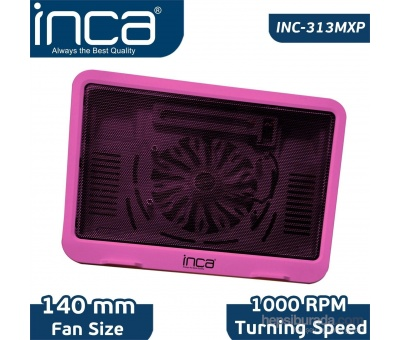 INCA INC-313MXP HI-SPEED PEMBE NOTEBOOK SOĞUTUCU