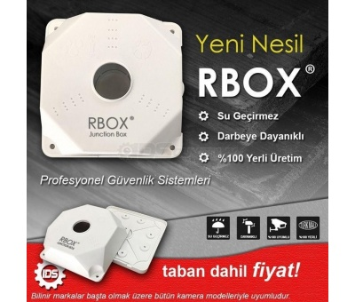 Kamera Montaj Buatı Rbox Buat - Junction Box Taban Dahil