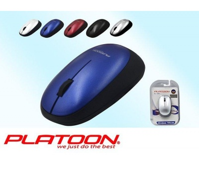 PLATOON PL-1801 WIRELESS KABLOSUZ MOUSE LUX VAKUM