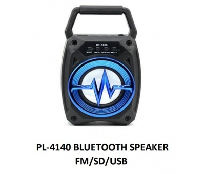 PLATOON PL-4140 IŞIKLI FM/SD/USB BLUETOOTH SPEAKER